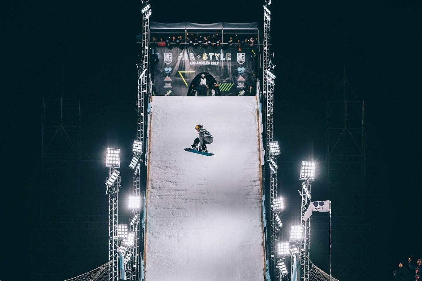 Сноуборд фрийстайл в Боровец
