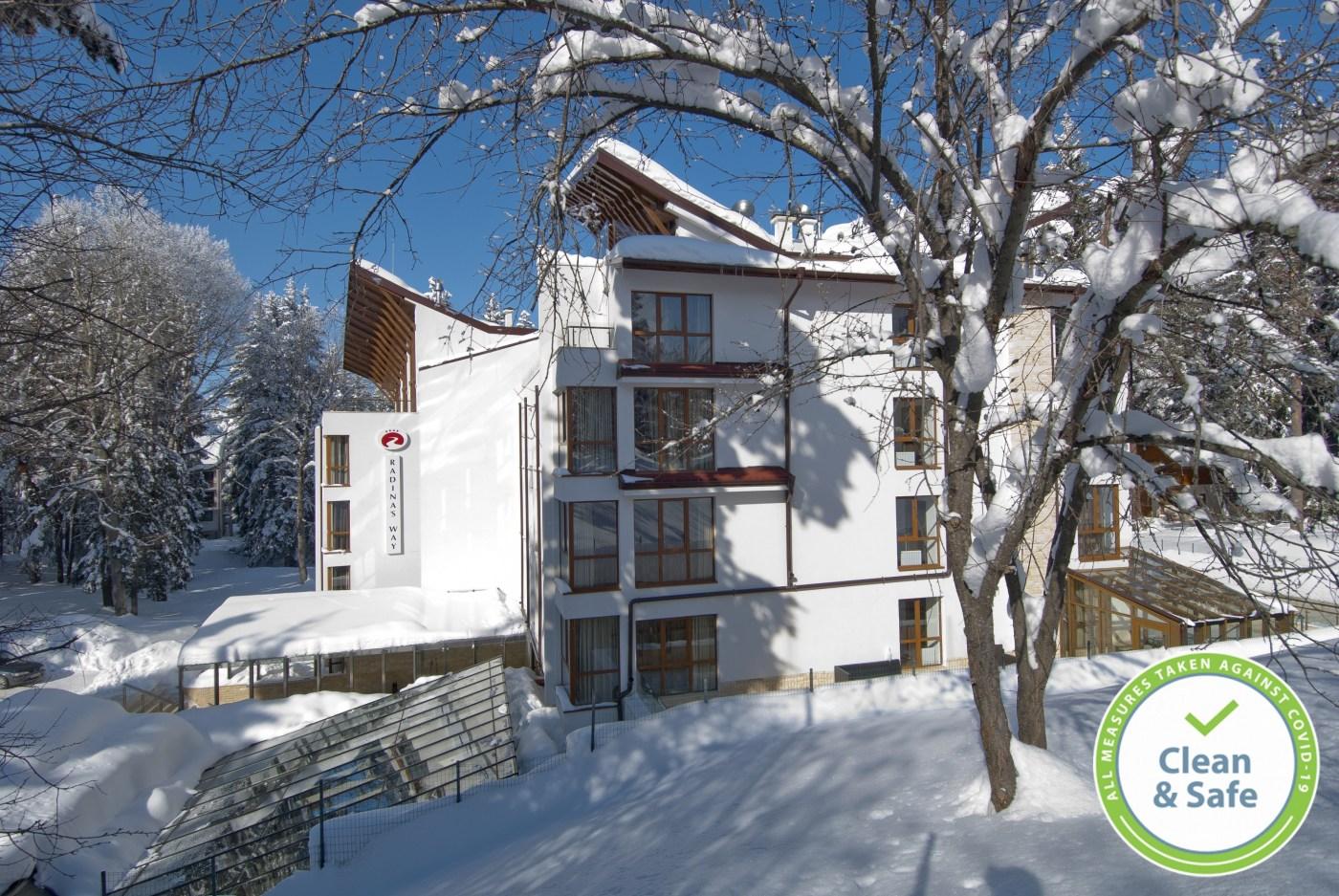 Хотел Радинас Уей, Боровец - зима 2021